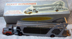Dinky Supertoys-France - Scale 1/48 - Tractor Unic and trailer transport of cars No.894