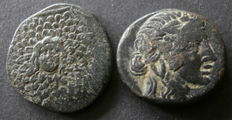 Ancient Greece – lot of AE20 and  AE21 of Pontos, Amisos (2).