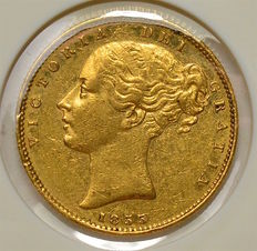 Great Britain - Sovereign 1855 - Victoria - gold