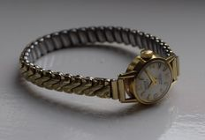 Britix 18 kt gold - Women's watch - 1950s/1960s