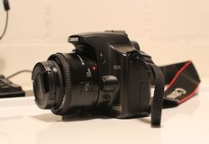 Canon 450D with 50mm 1.8 lens and extras