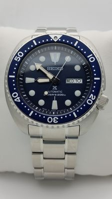 Seiko Turtle Diver's 200m Blue – Wristwatch – Never worn, like new