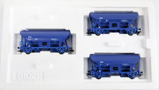 Märklin H0 - 46340 - Set of 3 hinged cover carriages of the NS