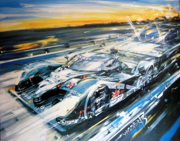 Bentley Exp Speed 8 #7 - Winner Le Mans 2003  - Artist Klaus Wagger