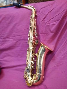 Conn saxophone with original case