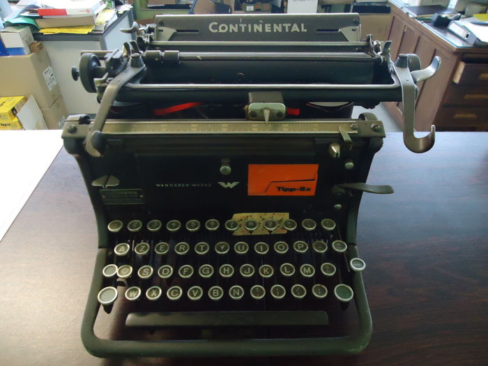 Continental Office typewriter