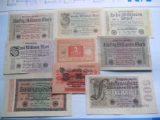 Germany - 66 pieces - assorted banknotes