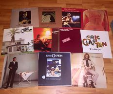 Eric Clapton - 11 LP Album Lot Including: Backless, 461 Ocean Boulevard, No Reason To Cry, Money And Cigarettes and many more!