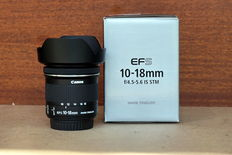 Canon EF.S 10-18mm f4.5-5.6 IS STM