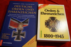 Deutsche Orden und Ehrenzeichen: German Epire paperback + German medals and decorations 1800-1945. Germany catalogue 2005/2006.