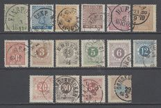 Sweden 1858/1872  - Stamps Ore  - Small lot