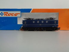 Roco H0 - 43465 - Electric  locomotive Series 1100 of the NS no: 1101 Blue