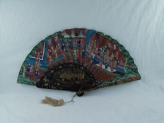 Folding fan – China – second half 19th century