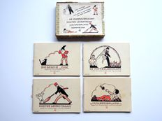 Rie Cramer - Four lovely picture books in box - 1934