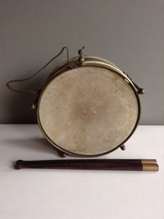 Drum with Rosewood Drumsticks.