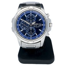 Seiko Solar Chronograph – men's wristwatch – 2015