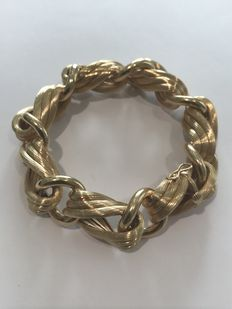 Elegant gold bracelet  ***LOW RESERVE PRICE***
