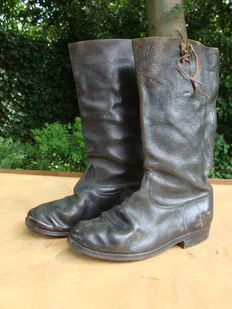 German WW2 Wehrmacht boots with sole fittings