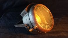 antique gas headlight
