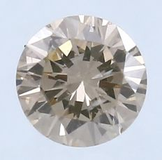 Round Brilliant Diamond – 0.16 ct. - No Reserve