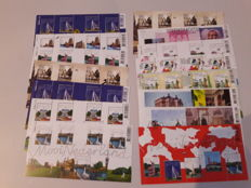 The Netherlands 2005/2012 - Batch of ± 100 sheets 'Mooi Nederland', 'Grenzeloos Nederland' and miscellaneous