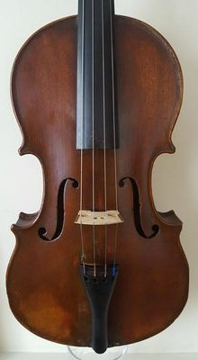 FINE OLD ANTIQUE FRENCH VIOLIN BY - BARBE PERE
