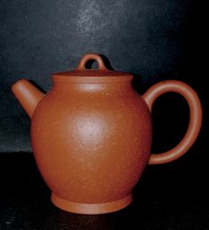 Yixing teapot with flat lid, China, second half 20th century