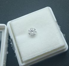 0.50 ct, Diamond round brillant, D, I1