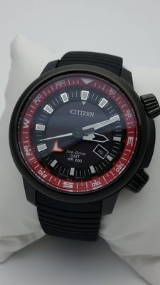 Citizen Eco-Drive GMT 200m – Wristwatch – Like new, never worn