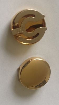 Button covers – Made in Italy – In 18 kt yellow gold