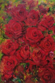 Hilda Hendriksen - Roses are red