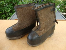 German WW2 winter overboots Eastern front Ardennes