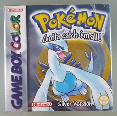 Gameboy color Game - Pokemon Silver Version