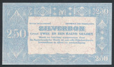 Netherlands - 2 Gulden 1938 - Silver certificate - Proof without number and signature - NVMH 13