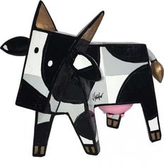 Jacqueline Schaefer - Funny Cow Black