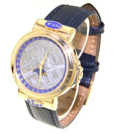 Corum Meteorite Moonphase Admiral - By Robert E. Peary - Limited Edition! - Unisex Wristwatch