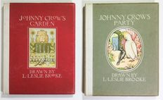 L. Leslie Brooke - Johnny Crow's Garden & Johnny Crow's Party - primi anni '20