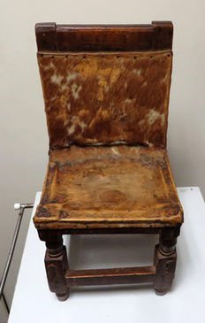 Antique highchair, 19th century