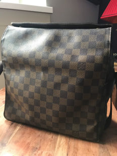 Louis Vuitton – Damier Ebene Naviglio Shoulder Bag