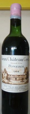 1964 Vieux Chateau Certan, Grand Vin de Pomerol - 1 bottle
