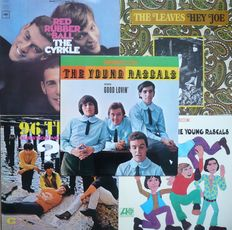 American 1960's Beat, Pop, Soul, Psych - Lot of 10 albums (various labels 1965-1969) - US and other press