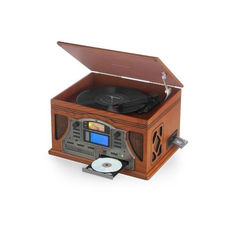 Music Centre - record player - 6 in 1 RMC430 Record player with built-in CD burner