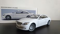 AUTOart - Scale 1/18 - Mercedes-Benz CL Coupe C216 - White