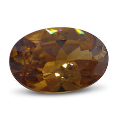 Golden Zircon - 8.87 ct