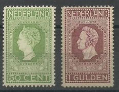 The Netherlands, 1913 – Independence – NVPH 97 + 98