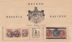 Bayern 1850/1920 - a collection on old album pages