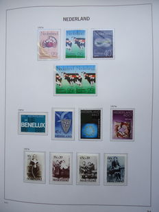 Netherlands 1970/1999 - Complete collection in 2 Davo LX albums with  cartridge