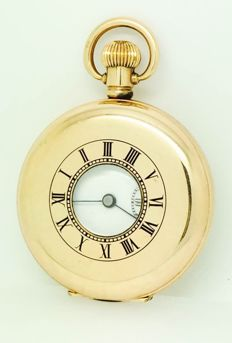 Star Dennison pocket watch, with double time. From the 1930s.