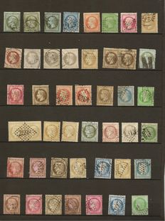 France 1852/1871 - collection of Classic Ceres and Napoleon