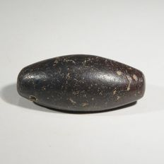 Babylonian weight, haematite. L. 36 mm